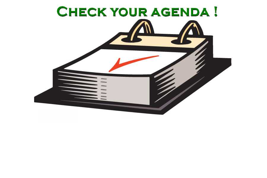 Check agenda