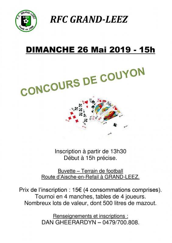 Concours couyon