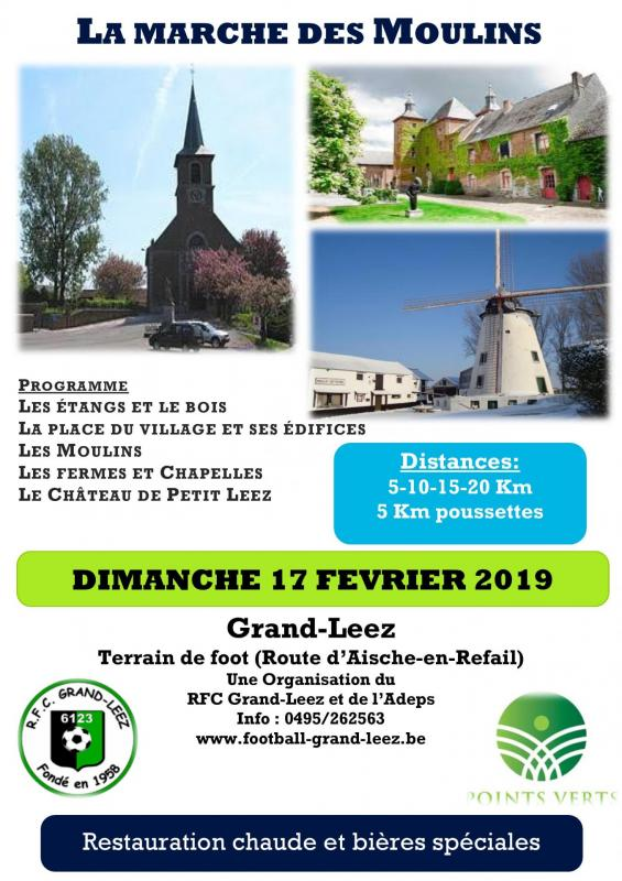 Flyers Marche ADEPS 2019